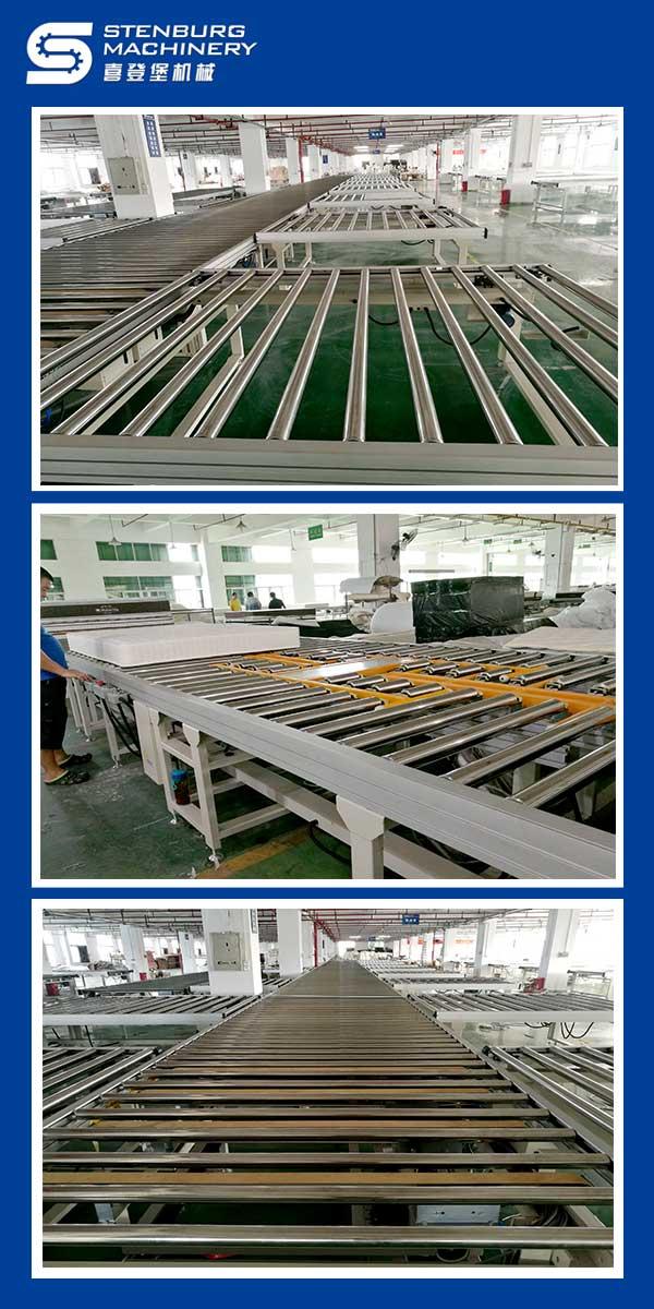 Автоматическая линия по производству матрасов 1